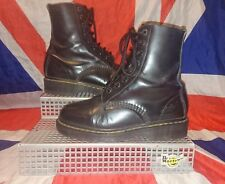 Rare*England 1460**Vintage*Black Dr Doc Martens x Shellys Rangers*Quirky Goth*3