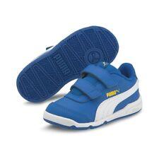 Puma Stepfleex 2 SL VE Inf Kinder Baby Schuhe Sneaker 192523 Blau Weiss Gelb