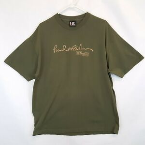 Paul McCartney US Tour 05 Short Sleeve T shirt Giant XL Beatles concert 2005 Vtg