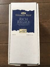 Stampin' Up! Rich Regals Set of 8 Boxed Ink Pads Stampin' Pads Retired