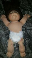Cabbage Patch Kids Doll Coleco Vintage 1984 Brown Hair Xavier Roberts signature