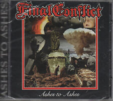 Final Conflict - Ashes To Ashes CD - New RE / Sealed / Hardcore Punk