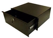 Rack Mount drawer - 4u in Black
