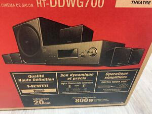 sony HOME THEATRE 5.1 HT-DDWG700 COMPLETO con sintoamplificatore