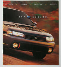 SUBARU 1999 Full Range dealer brochure - English - Canada ST1002000318