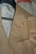 $5195 NEW Brioni Pure Cashmere Tweed Beige Blazer 46R 46 R 100% Cashmere