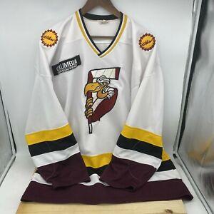 USED sz 52 El Paso Buzzards ProJoy Hockey Jersey WPHL Fight Strap