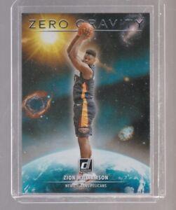 Zion Williamson 2020 Donruss Zero Gravity Insert #5 New Orleans Pelicans