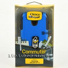 OtterBox Commuter Samsung Galaxy S4 Hard Shell Case Cover Surf Ocean Blue Black