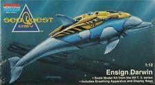 Monogram 1:12 Seaquest DSV Ensign Darwin Plastic Model Kit #3603