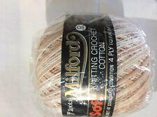 Milford Cotton 4 PLY 50g BROWN GRADIENT #04261 Dye Lot 12