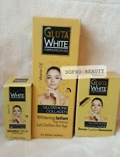 GLUTA WHITE GLUTATHIONE WHITENING LOTION 250ml+SERUM SOAP. ORIGINAL