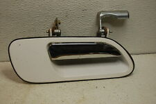 95-02 LINCOLN CONTINENTAL 93-98 MARK VIII right RH passenger DOOR HANDLE WHITE