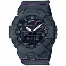 NEW GSHOCK GMAB800-8A S SERIES ANA-DIGITAL GREY/PURPLE WATCH