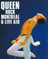 QUEEN - ROCK MONTREAL & LIVE AID USED - VERY GOOD BLU-RAY