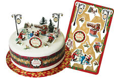 Anniversary House Christmas Victorian Traditional Cake Topper Kit Decorations