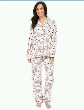 PJ Salvage Ropa para dormir Franela Pijama Conjunto Loungewear Poker Pin-Up Tarjetas M L o XL