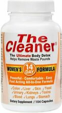 Century Systems The Cleaner 14 Day Women's Formula Ultimate Body Detox 104 Caps