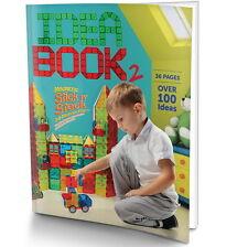New Magnetic Building Block Kindergarten Magnet Kid Toy 4D Construct Idea Book