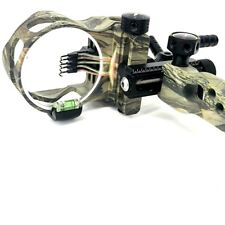 "Camo Archery Compound Bow Sight CNC 5 Pin .019"" Micro Adjust Long Pole Bow Sight"