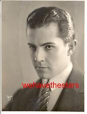 Vintage Ramon Novarro QUITE HANDSOME '25 DBW Publicity Portrait by HOOVER