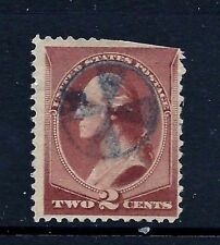 US Fancy  Cancel = SON Big Foot Prairie, ILL Blue CROSS-in-Ring <Cole* #CSC-18>