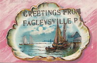 Postcard Greetings from Fagleysville PA