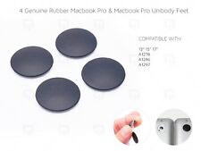 Apple MacBook Pro Unibody REAL Rubber Feet & Strong Adhesive A1278 A1286 A1297