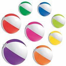 Bicolour Wasserball Strandball Urlaub Kinder Freizeit aufblasbar 1 Stück stf034