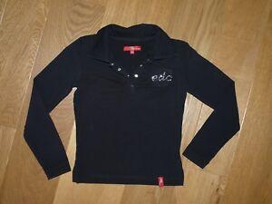 Tee-shirt manches longues noir EDC Esprit 8 ans