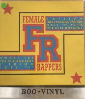 Various Female rappers 2xLP Comp Vinyl Record NR MINT CON