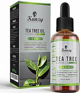 Essential Tea Tree Oil - Pure & Organic for Natural Beauty of Skin, Hair & Body