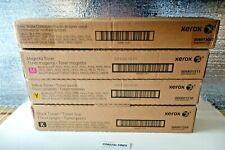 Xerox 006R01509 006R01510 006R01511 Toner Lot of 4 OEM NEW Sealed WC 7525 7530