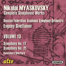 Evgeny Svetlanov - Symphonies 17 & 21 [New CD]