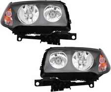 Halogen Headlights Headlight Assembly w/Bulb Pair Set for 04 05 06 BMW X3