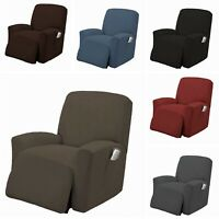 1 PC Stretch Recliner Slipcover Form Fit Furniture Chair Lazy Boy Cover, Estella
