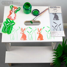 Stencil Minis-Coniglio & CANNE-lo stencil Studio Nursery Furniture & Crafts