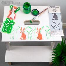 Plantilla Minis-Conejo & Cañas-la plantilla Studio Muebles Infantiles & Crafts