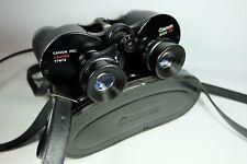 Old Vintage CANON 8X30 7.5* Coated  Binoculars In Original Case