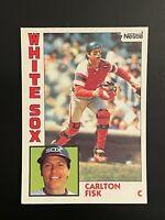 1984 Topps Nestle Carlton Fisk #560 Chicago White Sox Hall of Famer
