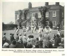 1956 Broxted Village Childern Dancing Maypole Thremhall Priory
