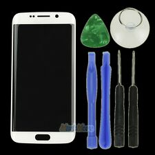 White Outer LCD Touch Screen Glass Front Lens Panel For Samsung Galaxy S6 Edge