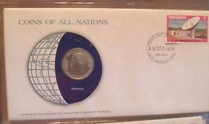 Coins of All Nations Tanzania 1 Shilingi 1980 UNC