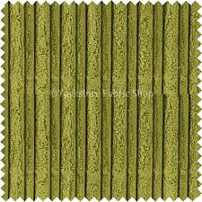 Suave Terciopelo Cordón Gigante Tapicería Sofás Cojín Telas Material Verde Liso