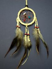 Dream catcher CREAM traditional style indian dreamcatcher car bedroom SMALL