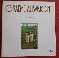 GRAEME ALLWRIGHT LP ORIG FR  QUESTIONS
