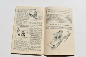 1946 LIONEL TRAINS FOR  ASSEMBLING & OPERATING INSTRUCTIONS BOOKLET/MANUAL