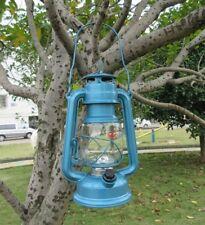 1X Lotus Light Outdoor Camping Lantern Lamp Torch 12Led Blue