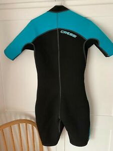 Cressi Lido Womens Shortie WetSuit, Size Large