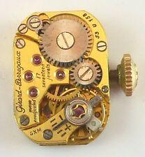 Vintage Girard - Perregaux LDS Wristwatch Movement - 53u158 -  Parts / Repair